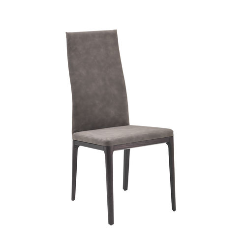 contemporary chair / upholstered / ergonomic / high-back