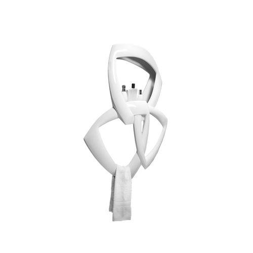 towel ring / wall-mounted / metal
