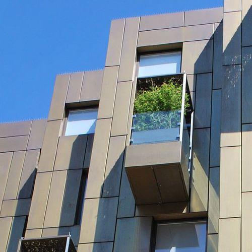stainless steel ventilated facade / copper / aluminum / zinc