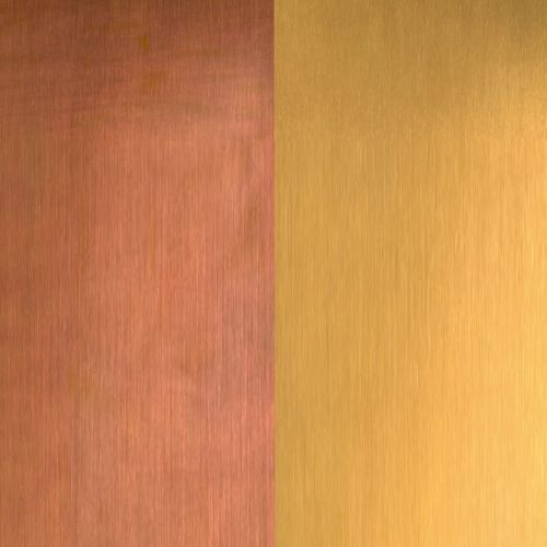 decorative metal sheet / copper / for roofs / for facade cladding