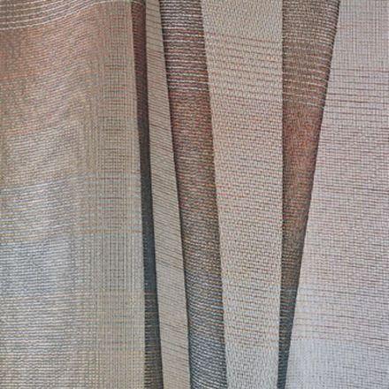 upholstery fabric / for roller blinds / striped / linen