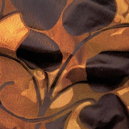 upholstery fabric / patterned / polyester / silk