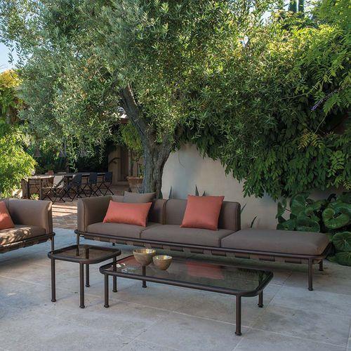 sofa cushion / for outdoor use / square / plain