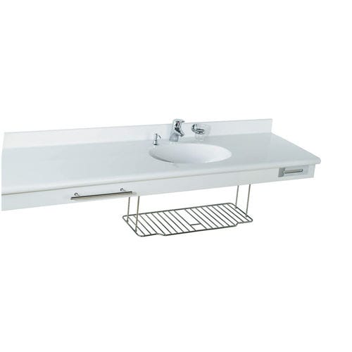 wall-mounted washbasin / rectangular / Pietraluce® / contemporary