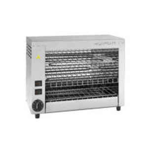 electric grill / countertop / commercial / stainless steel