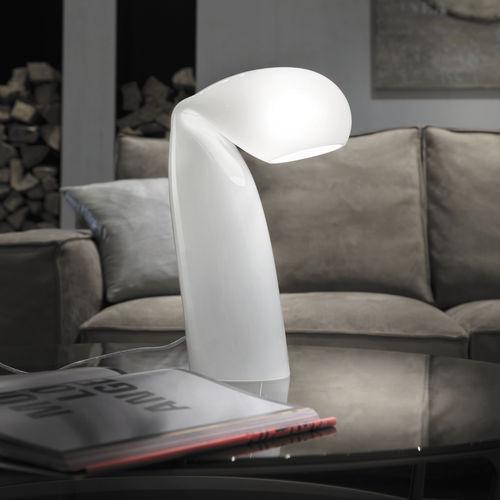 table lamp / original design / glass / handmade