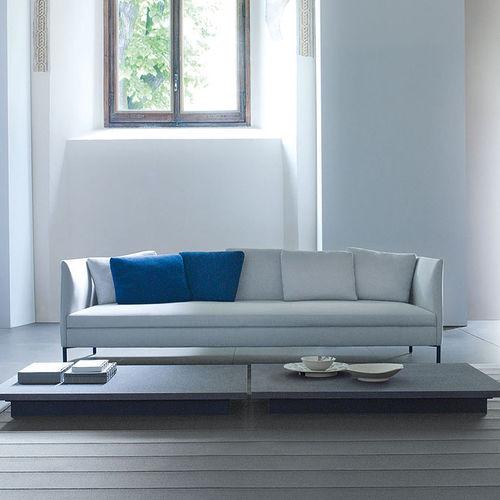 modular sofa / corner / contemporary / fabric