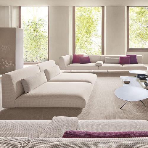 modular sofa / contemporary / polyester / fabric