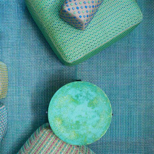 contemporary rug / plain / rectangular / woven