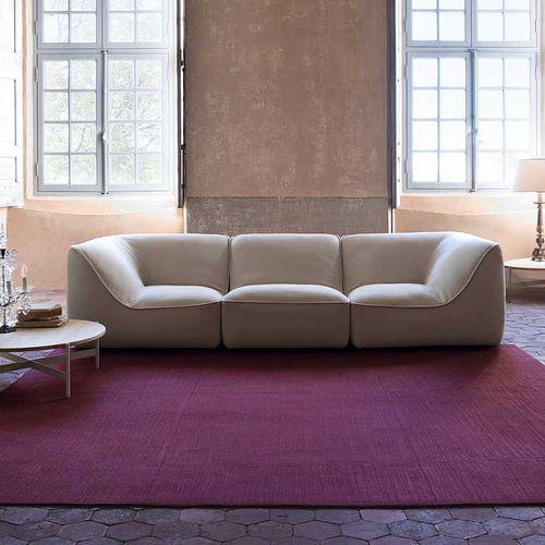 modular sofa / contemporary / fabric / polyester