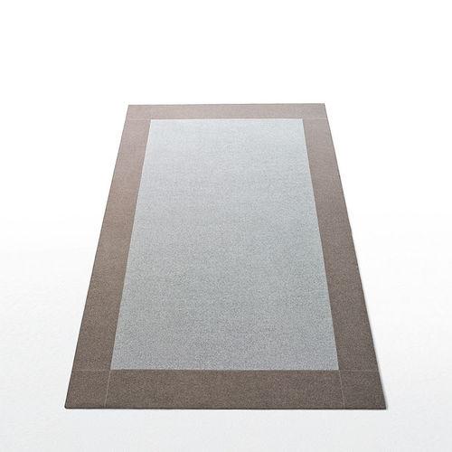 contemporary rug / plain / wool / felt