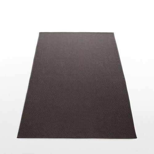 contemporary rug / plain / synthetic fiber / rectangular