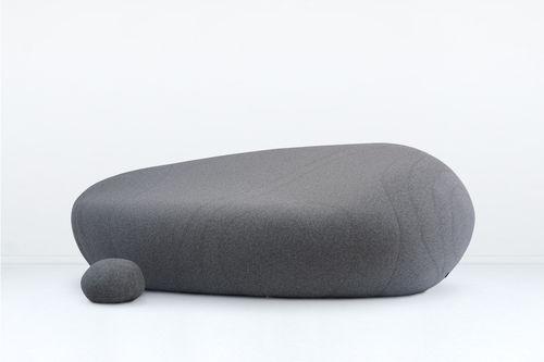 modular upholstered bench / original design / polypropylene / for public buildings