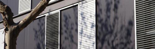 Sliding shutters / aluminum / for facades / louvered DUTEC 80s AL Durmi