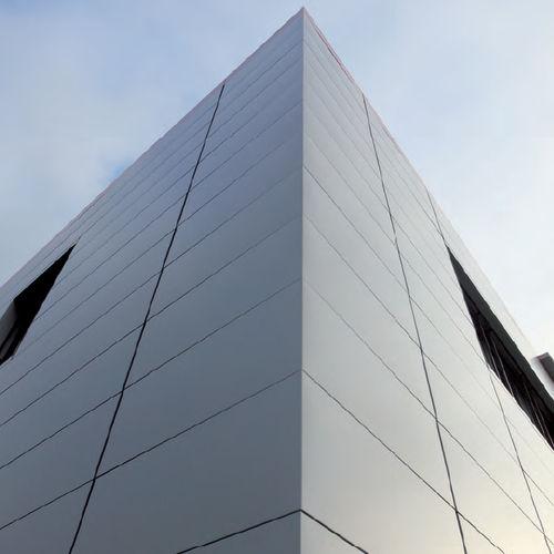 aluminum cladding / smooth / panel / multi-color