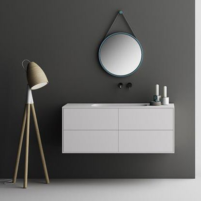 wall-hung washbasin cabinet - PLANIT