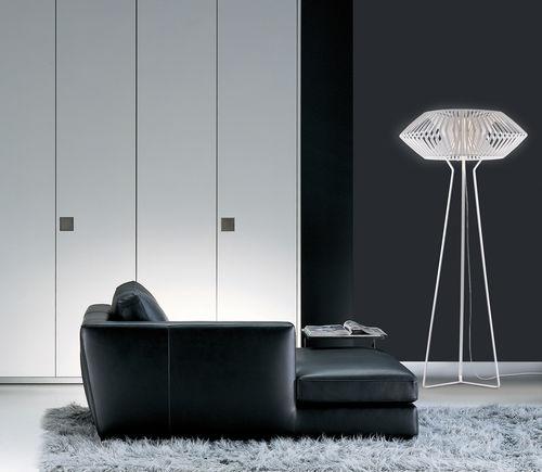 Floor-standing lamp / original design / glass / polycarbonate V : VV03 by Héctor Serrano arturo alvarez