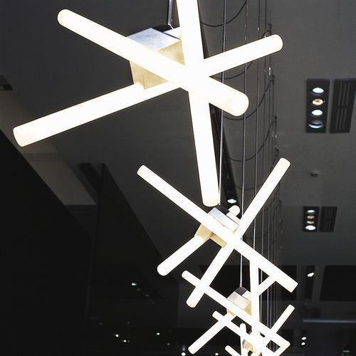 pendant lamp / contemporary / iron / incandescent