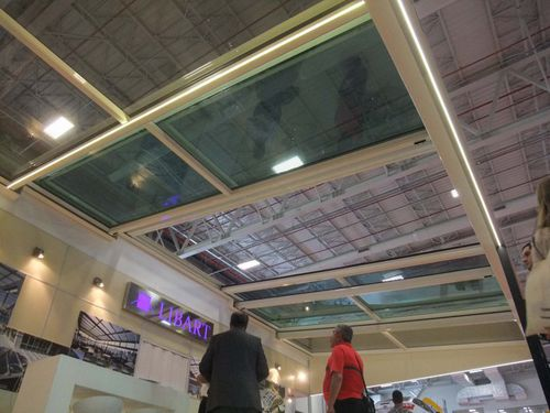 metal skylight - Libart Enclosure Systems