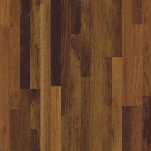 engineered parquet floor / glued / merbau / lacquered