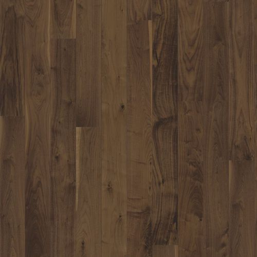 Solid wood flooring / glued / walnut / lacquered STORY 138 SPIRIT Karelia