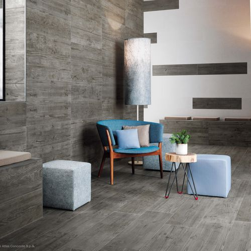 Indoor tile / for floors / porcelain stoneware / matte AXI Atlas Concorde