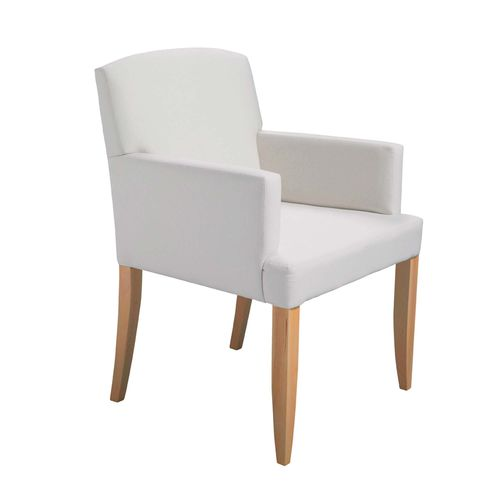 Traditional chair / with armrests / upholstered / wooden NIZA Gastón y Daniela