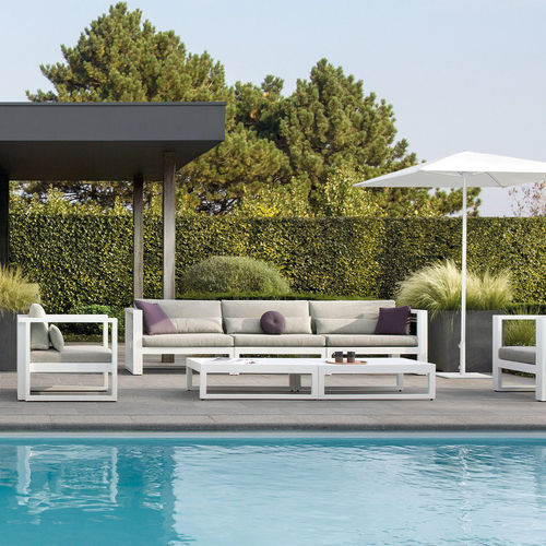 Modular sofa / contemporary / outdoor / Batyline® FUSE    MANUTTI