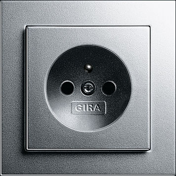 power socket / wall-mounted / contemporary