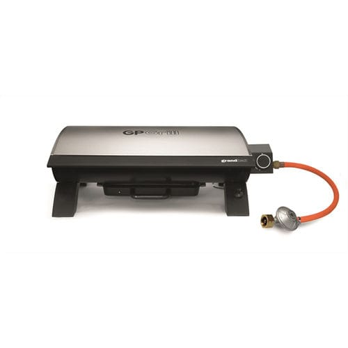 gas barbecue / electric / countertop / cast iron
