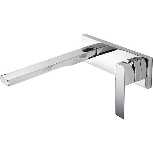 washbasin mixer tap / built-in / metal / bathroom