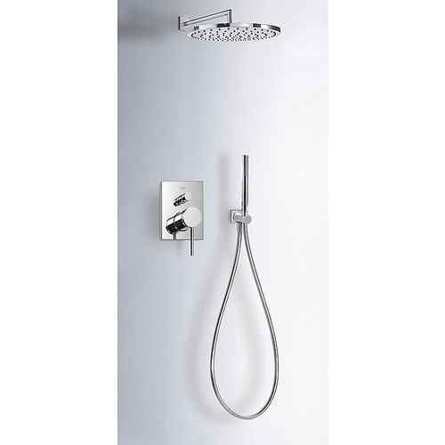 recessed wall shower set - TRES