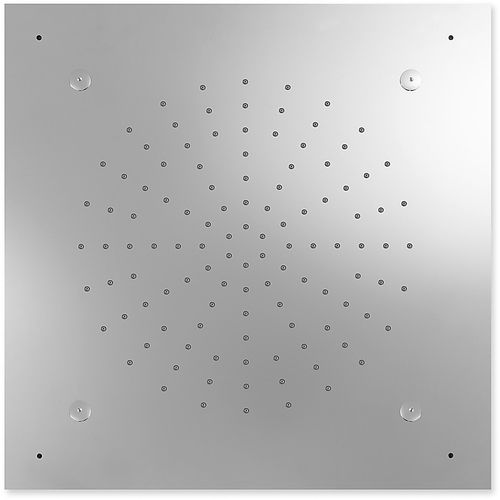 recessed ceiling shower head / square / rain