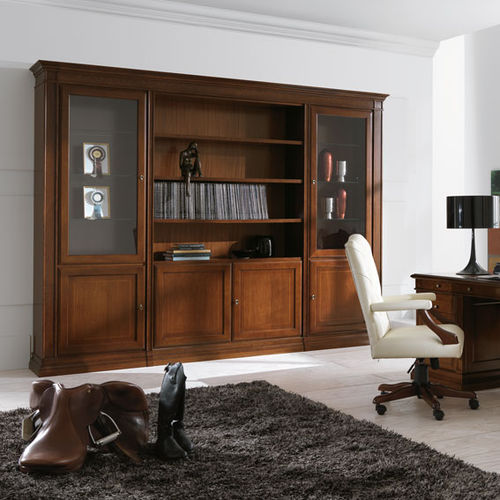 Classic bookcase / for offices / wooden MARGOT Stilema