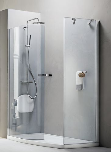 swing shower screen / corner / glass