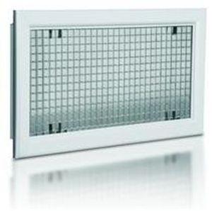 aluminum ventilation grill / rectangular