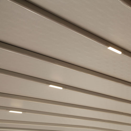 surface-mounted light fixture / recessed / LED / linear