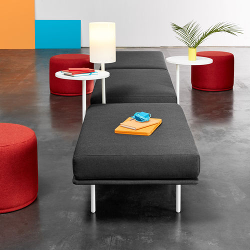 Contemporary bench / fabric / upholstered MEET UP! OFITA