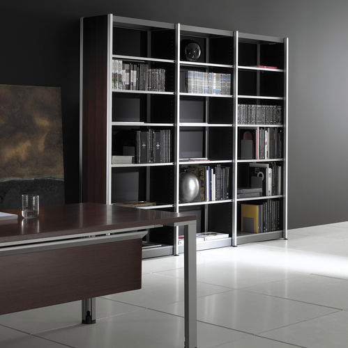 high bookcase / contemporary / commercial / for offices
