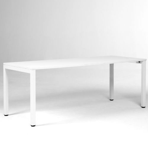Contemporary boardroom table / laminate / rectangular / with integrated electrical outlet GEN OFITA