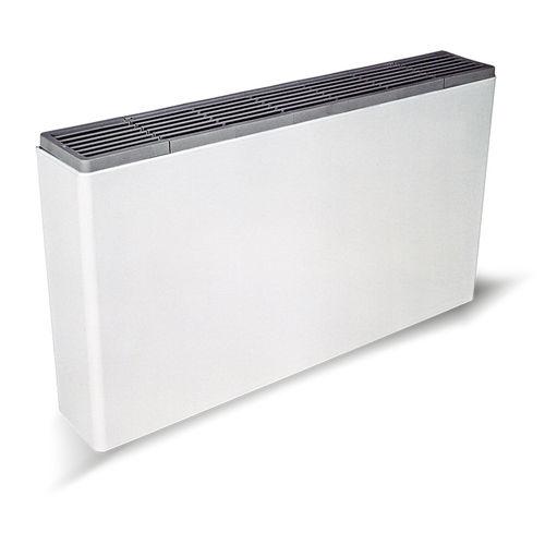 electric convector / metal / rectangular / horizontal