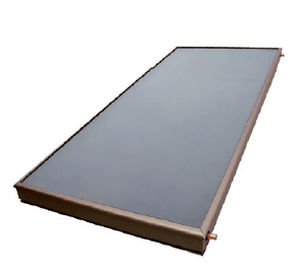 flat solar thermal collector / for heating / for roofs