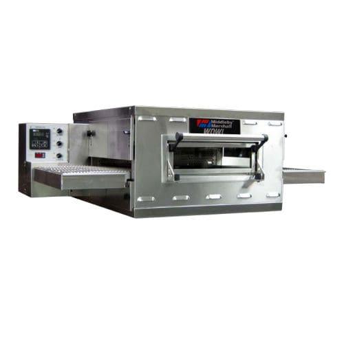 gas oven / commercial / pizza / conveyor