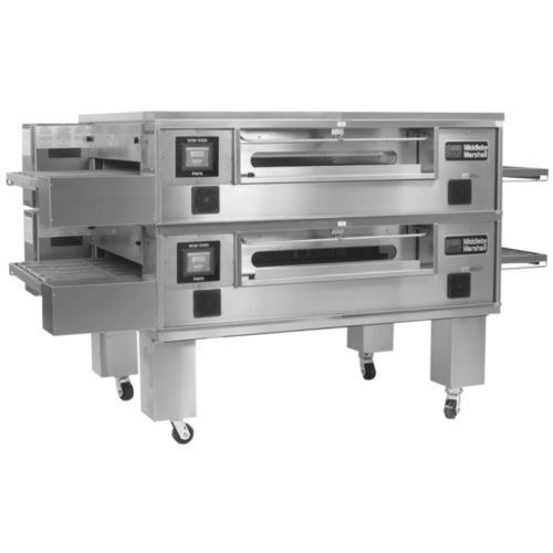 gas oven / commercial / conveyor / pizza