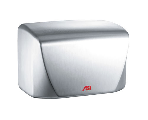 automatic hand dryer / wall-mounted / stainless steel / high-speed