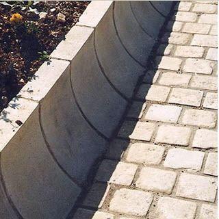 wheel stop edge / engineered stone / linear