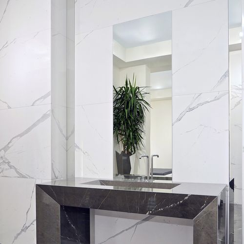 marble look tile - Casalgrande Padana
