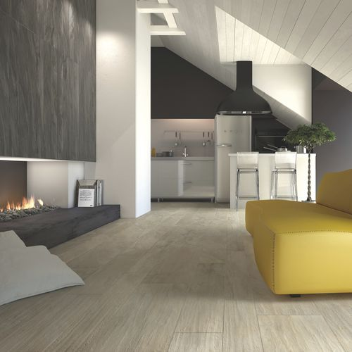 indoor tile / for floors / porcelain stoneware / matte