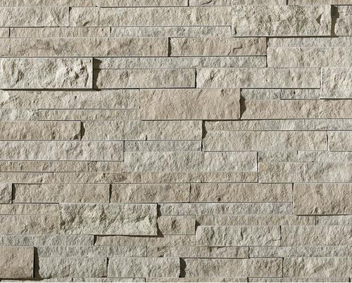 limestone wall cladding / exterior / interior / textured