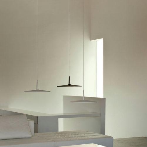 Pendant lamp / minimalist design / methacrylate / fluorescent SKAN VIBIA LIGHTING